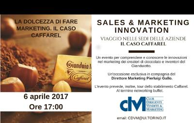 Evento 6 aprile 2017: la dolcezza di fare marketing. Il caso Caffarel