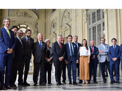 Presentati a Palazzo Madama i nuovi membri della rete alto di gamma Exclusive Brands Torino
