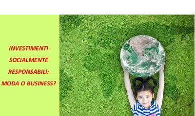 Investimenti socialmente responsabili: moda o business? – Evento CDVM – 7 febbraio 2018