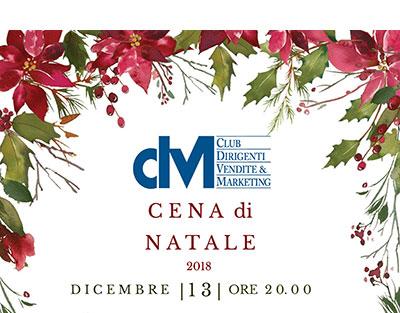 Cena di Natale CDVM – 13 dicembre 2018