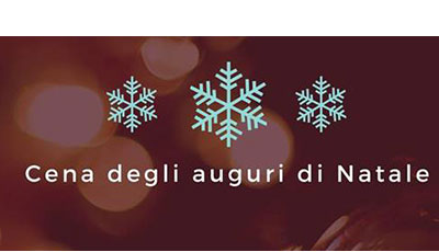 Cena di Natale CDVM – 9 dicembre 2019