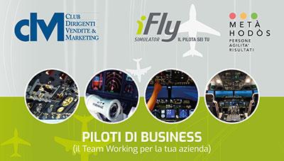 """Seminario presso il simulatore di volo di Torino – Team Working """"PILOTI DI BUSINESS"""" – Evento CDVM – 19 settembre 2020"""
