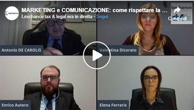 Marketing e comunicazione: comunicare nel rispetto della privacy – Video