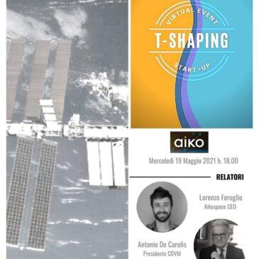 Ciclo di webinar dedicato al mondo delle start-up: Aikospace – 19 maggio 2021