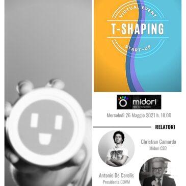 Ciclo di webinar dedicato al mondo delle start-up: MIDORI – 26 maggio 2021