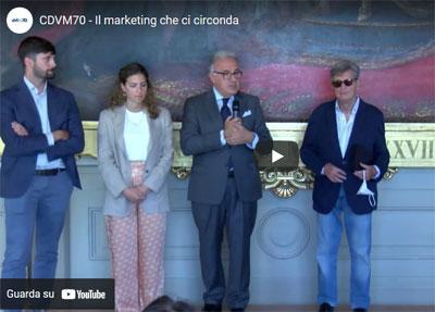 """Video – """"Il marketing che ci circonda"""", 70 anni di storia del CDVM"""